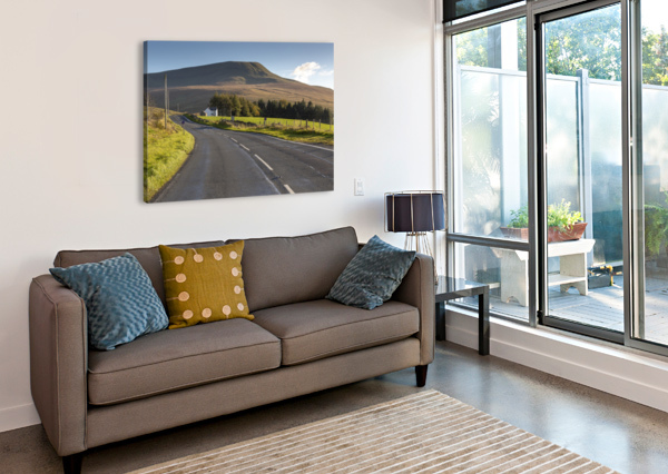 FAN GYHIRYCH IN SOUTH WALES UK LEIGHTON COLLINS  Canvas Print