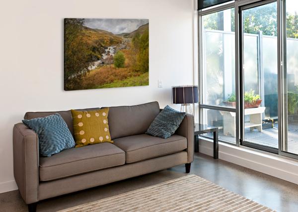 ELAN VALLEY LANDSCAPE LEIGHTON COLLINS  Canvas Print