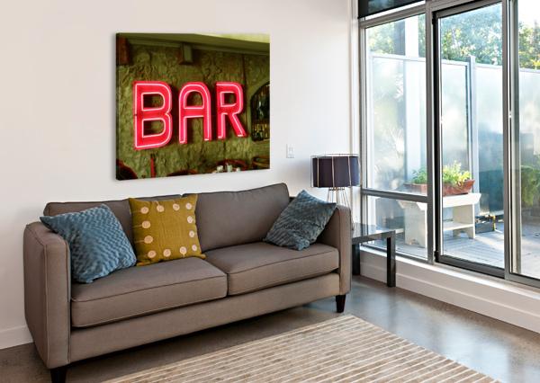 BAR SIGN DOROTHY BERRY-LOUND  Canvas Print