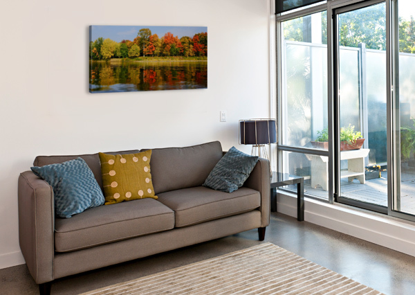 FALL IN LOVE WITH FALL CEDANSBOITE  Impression sur toile