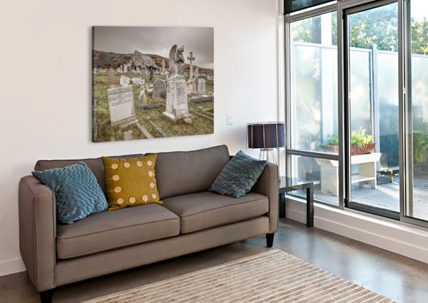 CEMETERY IN LLANDUDNO, NORTH WALES ASSAF FRANK  Canvas Print