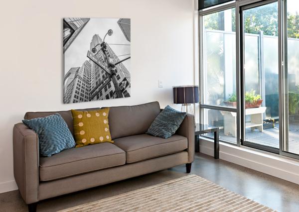 CHRYSLER BUILDING IN NEW YORK CITY ASSAF FRANK  Canvas Print