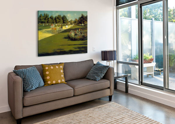 PROSPECT PARK BY CHASE CHASE  Canvas Print