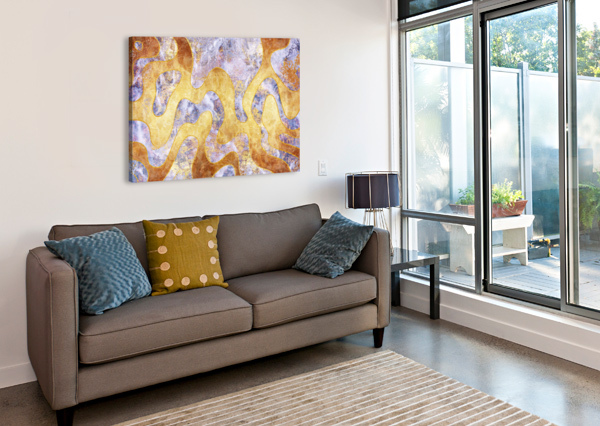 ABSTRACT MARBLE XXIX ART DESIGN WORKS  Canvas Print