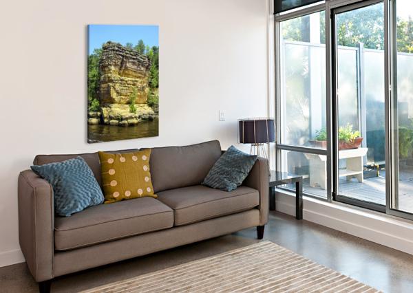 RUGGED WISCONSIN 4 360 STUDIOS  Canvas Print