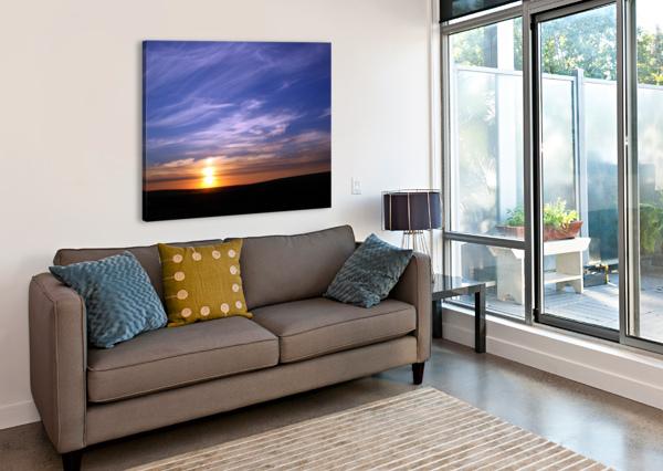 MONTANA   SUNSET 360 STUDIOS  Canvas Print