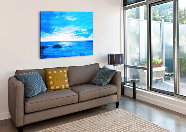 BLUE WORLD 360 STUDIOS  Canvas Print