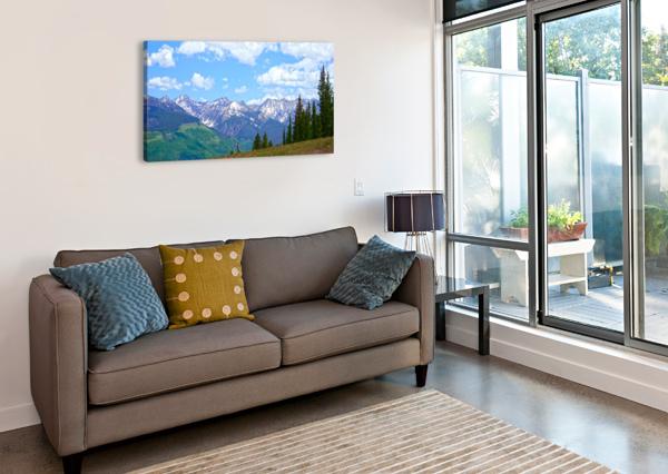 ROCKY MOUNTAIN HIGH COLORADO PANORAMA  360 STUDIOS  Canvas Print
