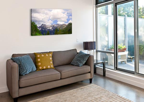 WHITE RIVER COUNTRY COLORADO 360 STUDIOS  Canvas Print