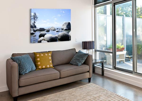 ON THE LAKE - TAHOE CALIFORNIA USA 360 STUDIOS  Canvas Print