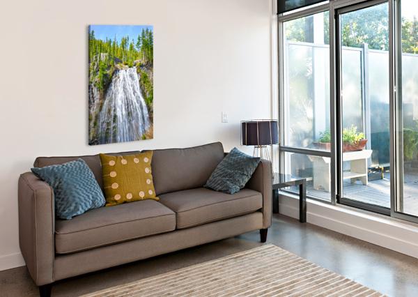 NORTHWEST WATERFALL 360 STUDIOS  Canvas Print