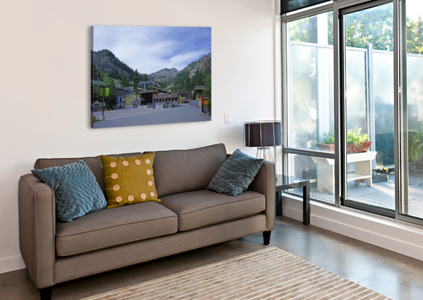 SPRING AT LAKE TAHOE 3 OF 7 24  Canvas Print