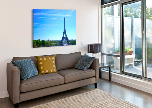 EIFFEL TOWER 1NORTH  Canvas Print