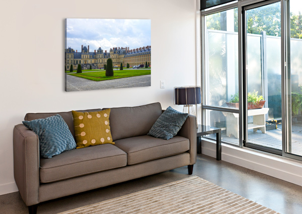 CHATEAUS OF FRANCE 3 1NORTH  Canvas Print