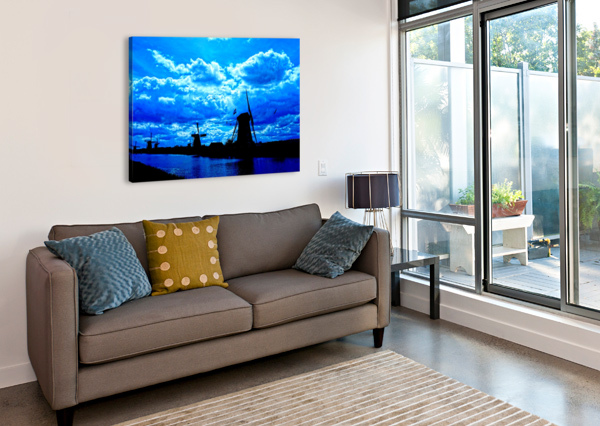 WINDMILLS OF THE NETHERLANDS 4 OF 4 360 STUDIOS  Canvas Print