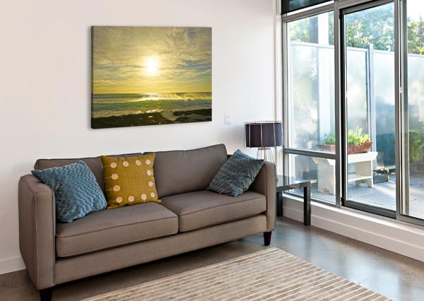 SPLASH - SUNSET HAWAII 24  Canvas Print