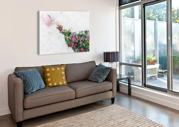 DALTANA SPRING GRIALL BRI BOROS  Canvas Print