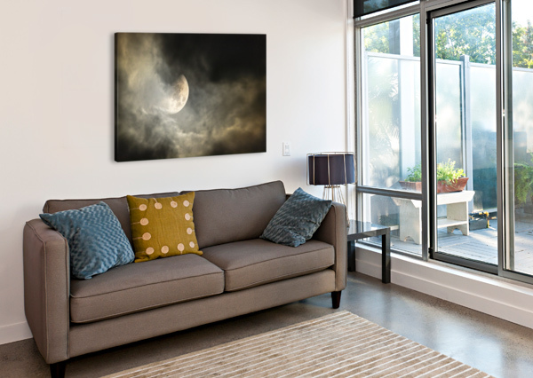 GOODNIGHT MOON  CHRIS STAHL PHOTOGRAPHY  Canvas Print