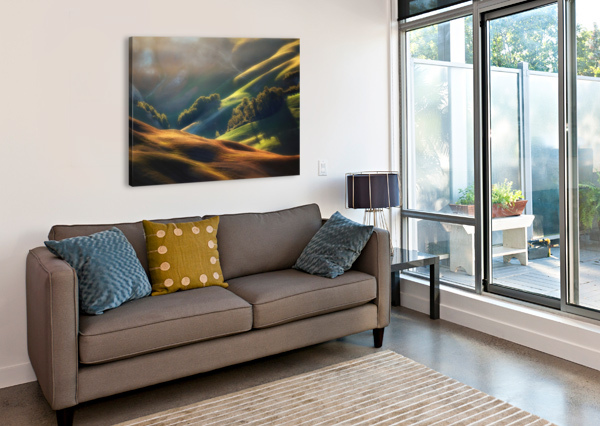 TUSCANY SUNRISE 1X  Canvas Print