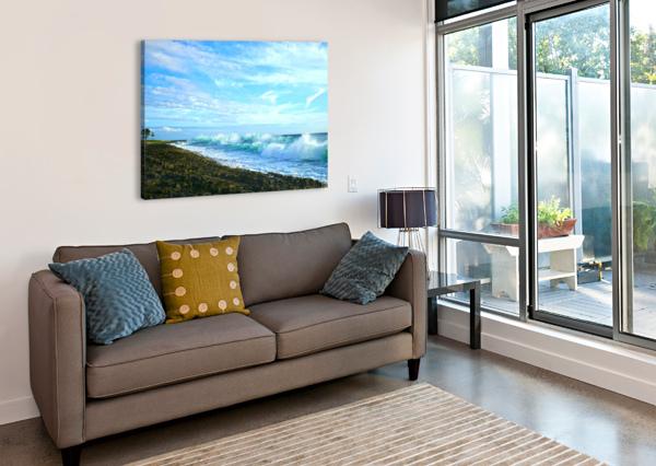 BLUE DAY - HAWAIIAN ISLANDS 1NORTH  Canvas Print