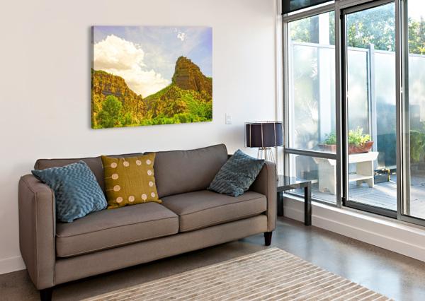 GOLDEN COLORADO 1NORTH  Canvas Print