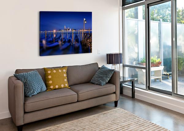 SAN GIORGIO MAGGIORE ISLAND, VENICE BY PHOTOGRAPHY BY KAREN 1X  Canvas Print