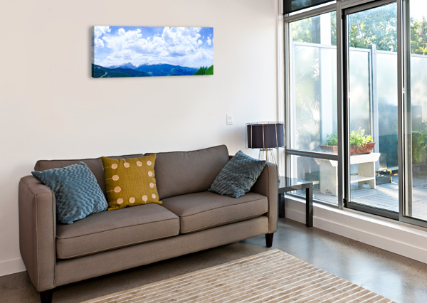 THE SAWATCH RANGE COLORADO 1NORTH  Canvas Print