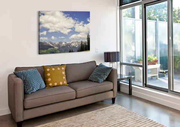 BACK COUNTRY COLORADO 5 OF 8 24  Canvas Print