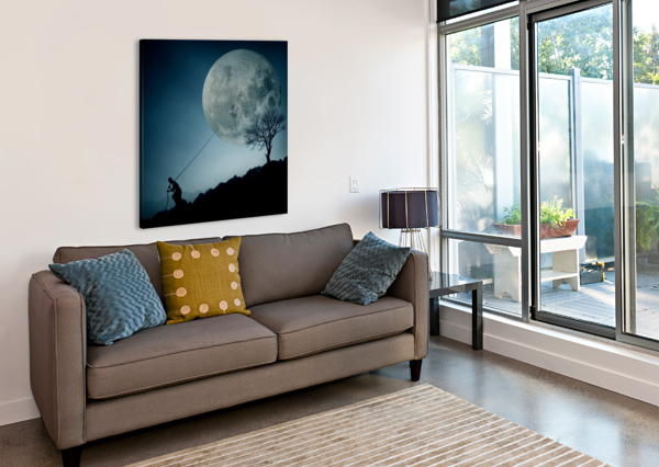 THE DREAMER 1X  Canvas Print