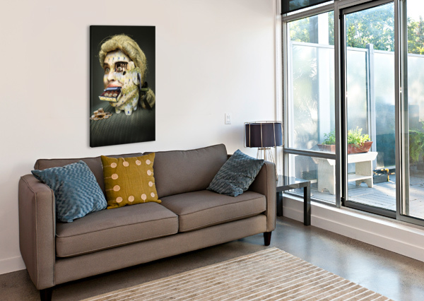 THE MISER MOLIER BY DDIARTE   1X  Canvas Print