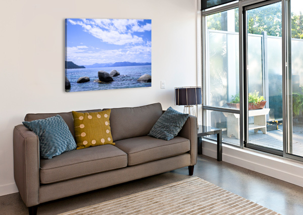 PERFECT DAY AT THE LAKE - CALIFORNIA 24  Canvas Print