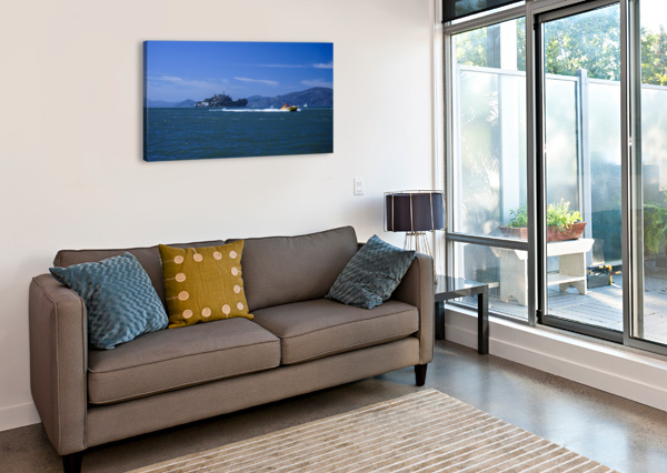 THE ROCK ALCATRAZ SAN FRANCISCO 360 STUDIOS  Canvas Print