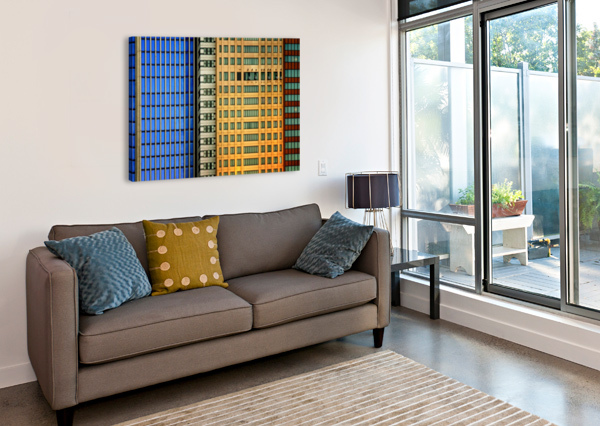 WINDOWS ON THE CITY BY SO SAD MATHILDE 1X  Canvas Print