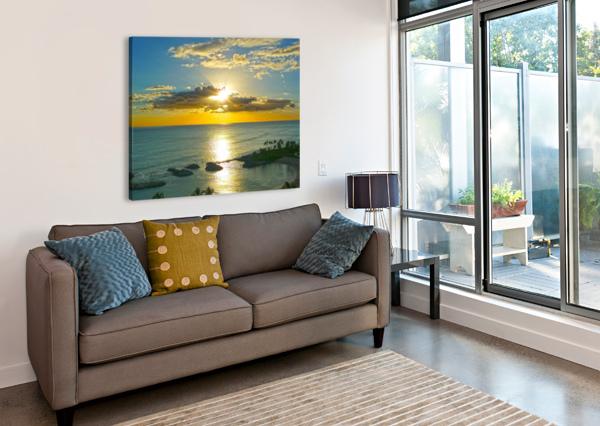 ISLAND DREAMIN - HAWAII SUNSET 24  Canvas Print
