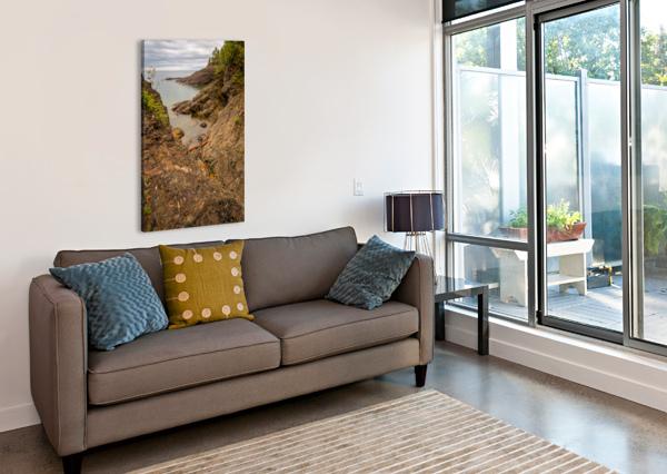 LAKE SUPERIOR AP 2550 ARTISTIC PHOTOGRAPHY  Canvas Print