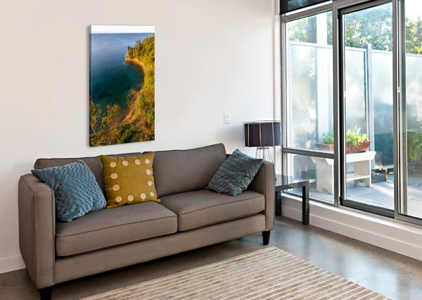 MINERS CASTLE AP 2518 ARTISTIC PHOTOGRAPHY  Canvas Print