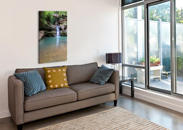 UPPER FALLS AP 2058 ARTISTIC PHOTOGRAPHY  Canvas Print