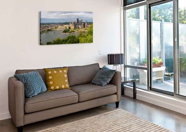 PITTSBURGH APMI 1693 ARTISTIC PHOTOGRAPHY  Canvas Print