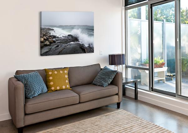 BOULDERS AP 2260 ARTISTIC PHOTOGRAPHY  Canvas Print