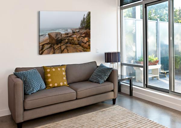 BOULDERS AP 2254 ARTISTIC PHOTOGRAPHY  Canvas Print