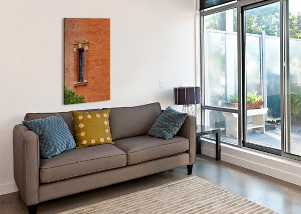 WINDOW STUDY AP 2095 ARTISTIC PHOTOGRAPHY  Canvas Print