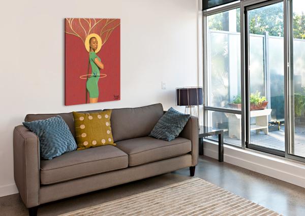 THE CURVE 7TH ARTIST  Canvas Print