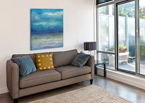 INFINITY BEYOND THE BLUE CHRISTINE CHOLOWSKY  Canvas Print