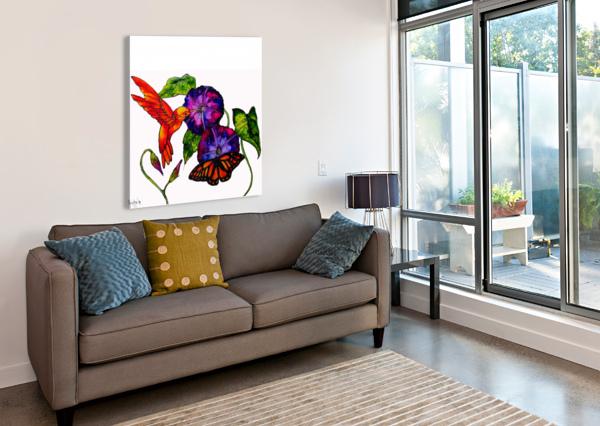 SPRING SYMPHONY CHRISTINE CHOLOWSKY  Canvas Print