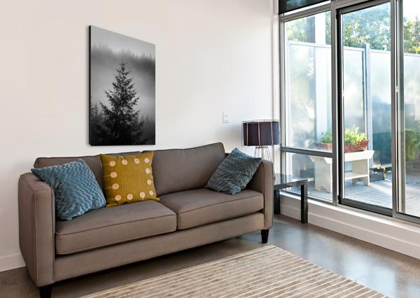 LONLIEST TREE JAYDENERICBEAUDOIN  Canvas Print