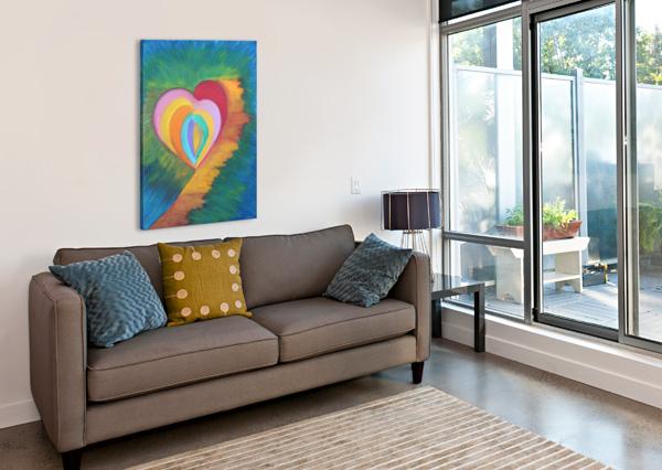 HEART PALLAVI SHARMA  Canvas Print