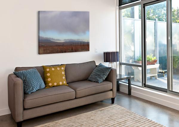 FENCE SUSAN DIANN PHOTOGRAPHY  Canvas Print