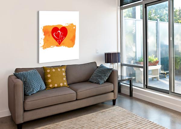 LOVE PALLAVI SHARMA  Canvas Print