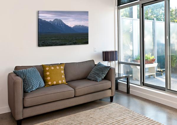 GRAND TETON NATIONAL PARK COREY DOUGLAS  Canvas Print
