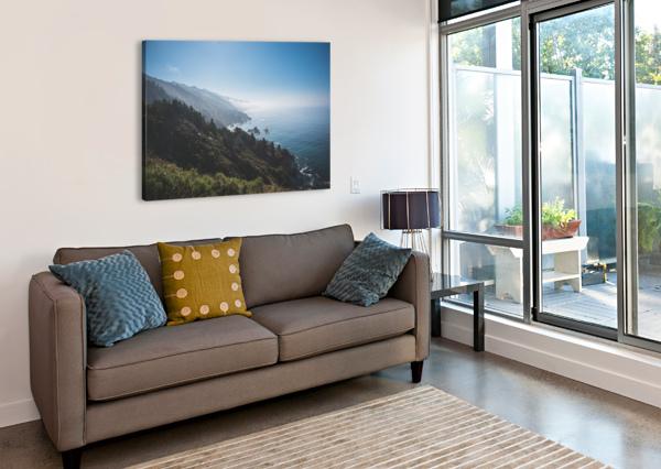 BIG SUR CALIFORNIA COREY DOUGLAS  Canvas Print